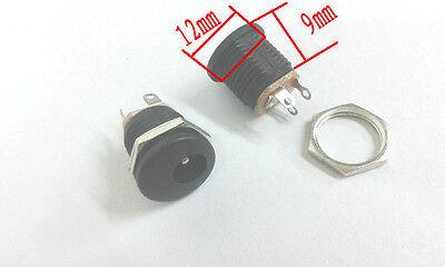 20pcs 5.5MM X 2.1MM DC socket Panel mounting Power adapter
