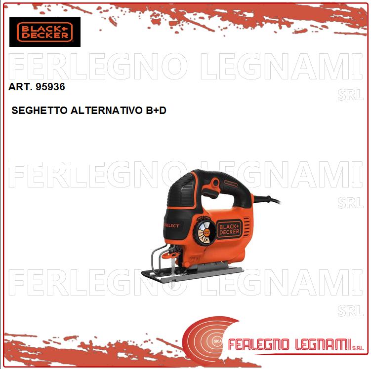 Säge Alternativ B+D 550W X Zuschnitte auf Metall, Kunststoff und Holz Art. 95936