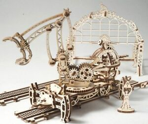 UGEARS-Rail-Manipulator-Mechanical-Wooden-Model-Kit-70032