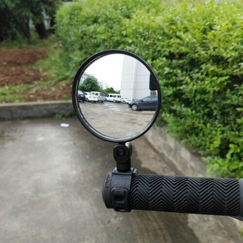 Black ABS Flexible Rear View Mirror Bicycle Mountain Bike Accessories Mirror