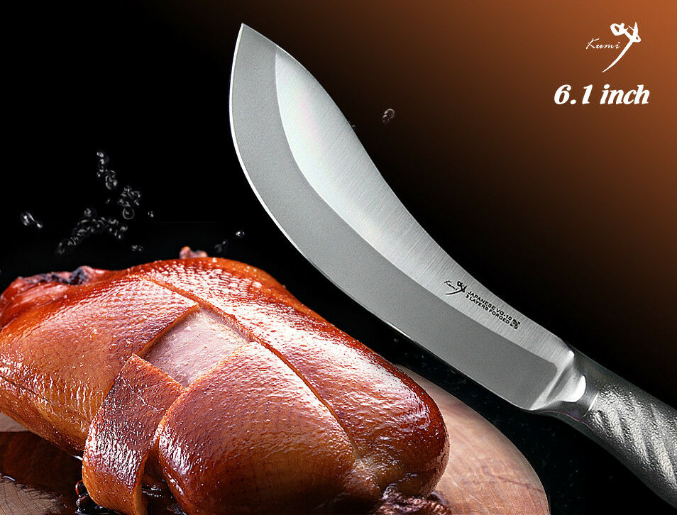 Handmade Japanese VG10 Steel Skining Knife 6.1 inch Skin Off Slicer Cookware