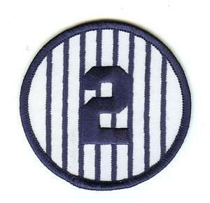 Derek Jeter Number 2 Pinstripes
