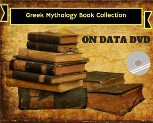Details about GREEK MYTHOLOGY BOOKS - 172 Rare PDF Books on Data DVD -  Legends Folklore Myths