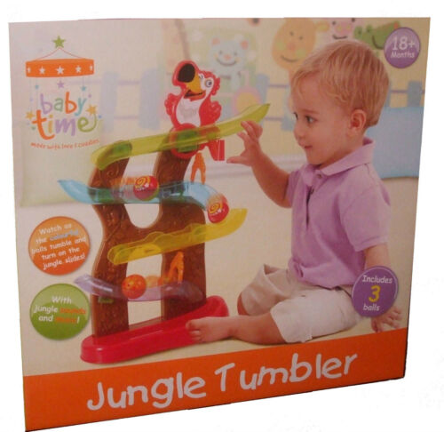 Baby Time Jungle Tumbler Child/'s//Kids Toy 18m+