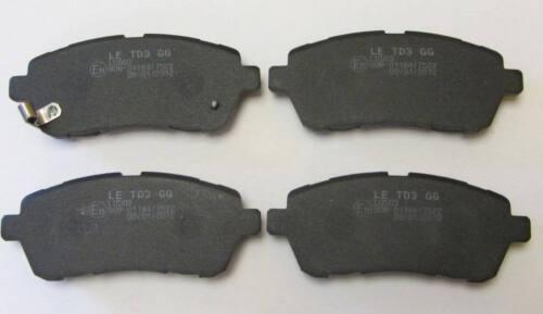 Car Brake Pads FRONT Brake Pad Set Ford Fiesta 1.6 1600CC TDCi 90 ...