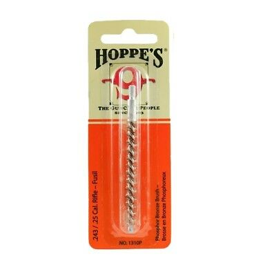 Rifle High Standard In Quality And Hygiene Hoppe's 9 Phosphor Bronze Cleaning Brush .243 .25cal 1310p