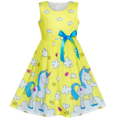 Mädchen Kleid Rosa Punkt Blume Gestickt Trägerkleid Kinder Kleidung Gr 86-110