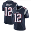 NFL T-Shirt Mens New England Patriots Football Stitched Jersey 11#//12#//26#//87#