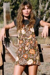 Daisy pinafore dress