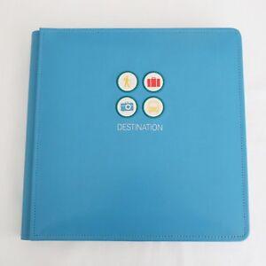 Creative-Memories-Destination-Travel-12x12-Quick-Kit-Album-Pages-Stickers-BNIP