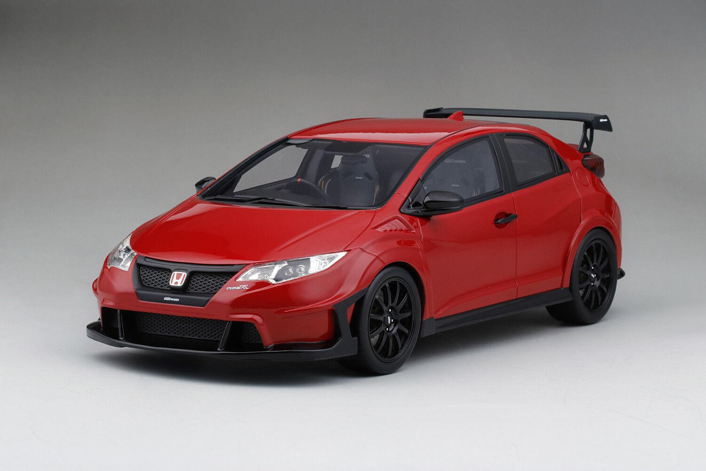 TRUESCALE 1 18 Honda Civic Type R Lhd 2017 rouge Art. TS0113