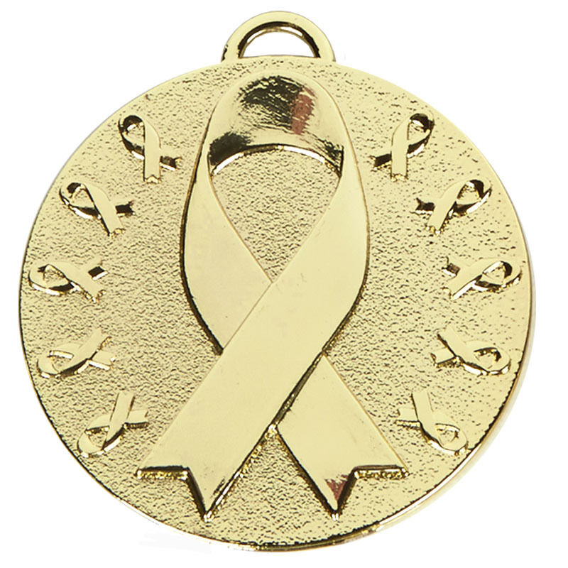 FREE ENGRAVING Football Gold Star Metal Medal With FREE RIBBON FREE P/&P