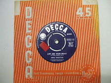 F 11167 Mike Preston - Just Ask Your Heart / Mr. Blue - 1959