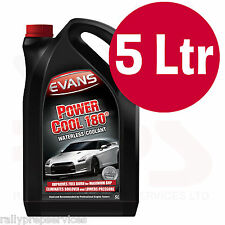 Evans sin agua refrigerante de energía 180 - 5 litros de alto rendimiento/Rally Coche/Raza