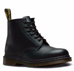 Dr. Martens 101 Black Smooth Leather 6