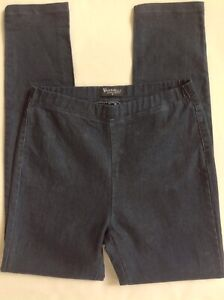 Vassalli-Size-8-Jeans-Jeggings-Dark-Blue-Stretch-VGC-Pull-on