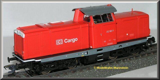 Roco 69980 H0 BR 212 DB Cargo für Märklin, Digital-Decoder, Neu OVP