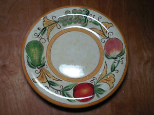 Image is loading Tabletops-Espana-Lifestyle-AMBROSIA-Set-of-4-Dinner- & Tabletops Espana Lifestyle AMBROSIA Set of 4 Dinner Plates 11