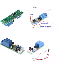 1-Piece-Infinite-Cycle-Delay-Timing-Timer-12V-DC-Loop-Module-Trigger-switch-c33