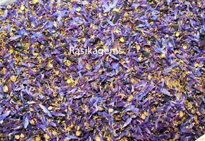 Dried Blue Lotus Flowers Nymphaea Caerulea Nuciferine Herbal Tea
