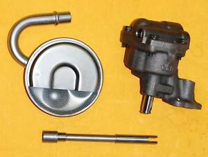 Melling-Sbc-Oil-Pump-Kit-M55-Small-Block-Chevy-350-383-Screen-And-Drive-Rod