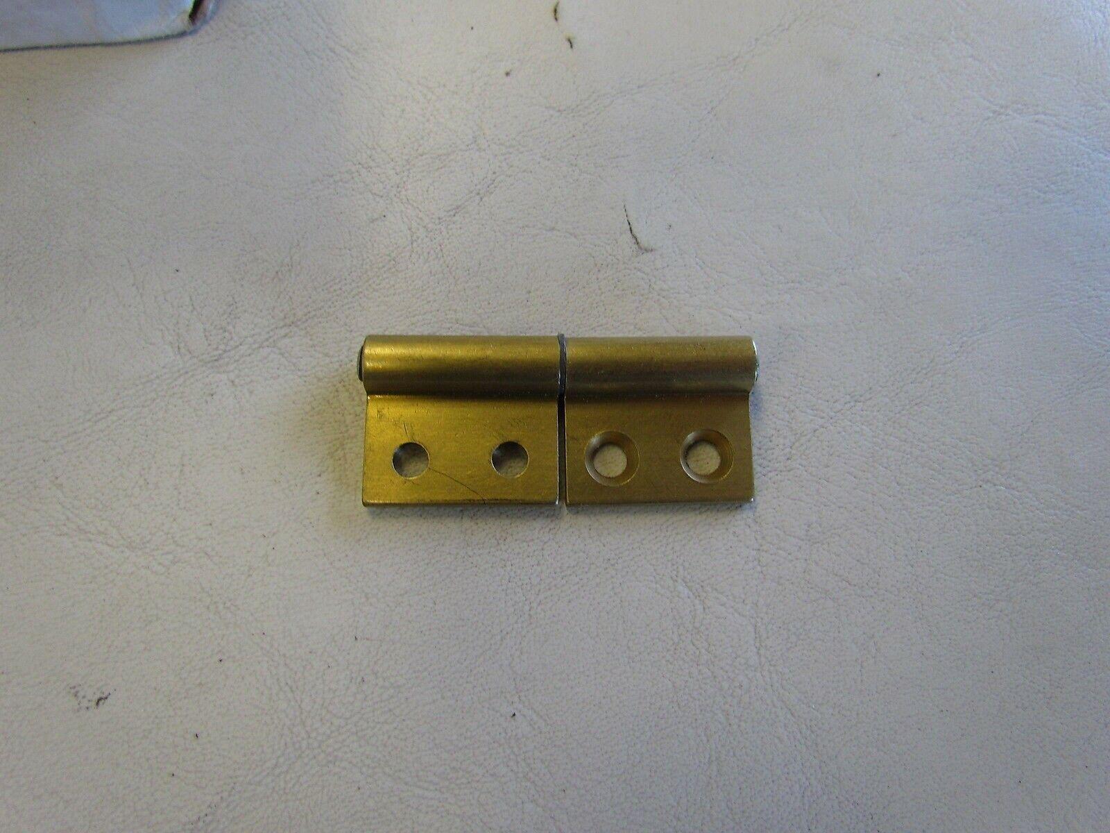 MERIT EXTRUDED BRASS CABINET DOOR HINGE 1293-GS2 2  X 7 8  (SET OF 100)