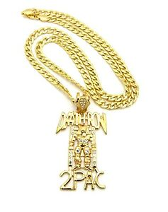 Iced out deathrow 2pac pendant with 30 cuban chain ebay image is loading iced out deathrow 2pac pendant with 30 034 aloadofball Choice Image
