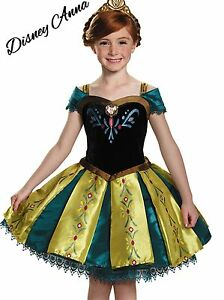 New-Frozen-Anna-Dress-Costume-Coronation-Child-Girls-Princess-Dress-Tutu