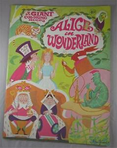 image is loading alice in wonderland giant coloring book playmore don - Giant Coloring Book