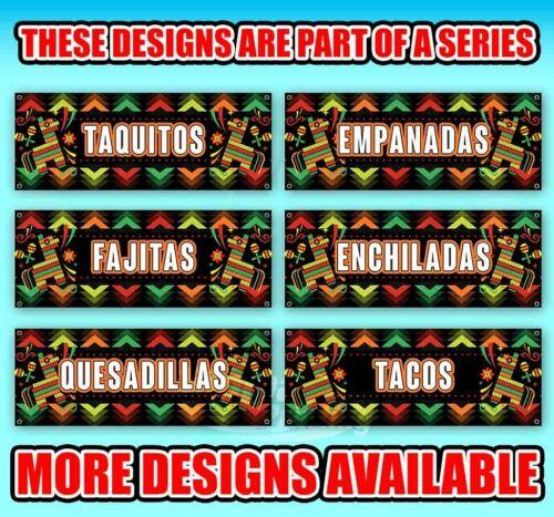 EMPANADAS Advertising Vinyl Banner Flag Sign Many Sizes SPANISH FOOD