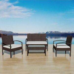vidaXL-Garden-Sofa-Set-7-Pieces-Wicker-Poly-Rattan-Brown-Chair-Furniture-Table