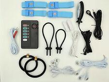Reizstromgerät + Elektroden-Set + Anal- / Vagina-Sonde | EMS/TENS/E-STIM/ESTIM