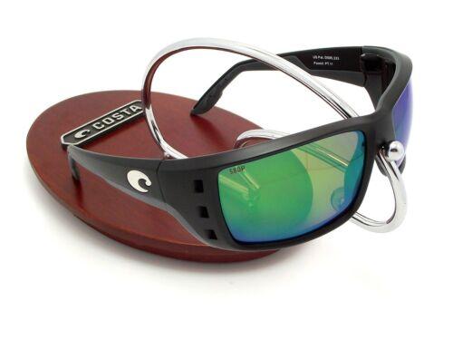 NEW Costa Del Mar PERMIT Black /& 580 Green Mirror Plastic 580P