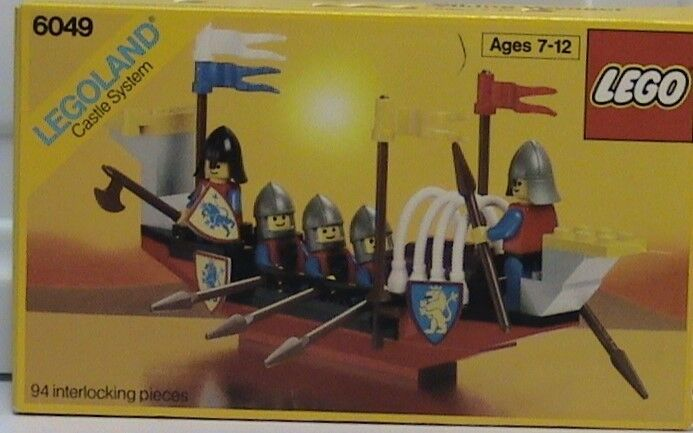 Neu Lego Löwe Ritter Schloss 6049 Viking Voyager Verpackt Legoland