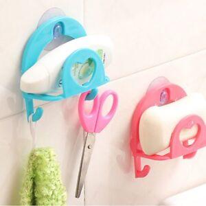 Kitchen-Bathroom-Sponge-Sink-Tidy-Holder-Rack-Suction-Strainer-Cutlery-Storage-1