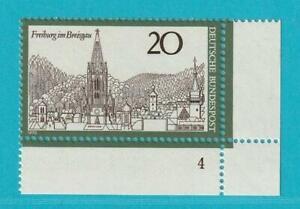 Bund-aus-1970-postfrisch-MiNr-651-Freiburg-im-Breisgrau-Ecke-unten-Rechts