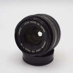 Canon-FD-Lens-50mm-1-1-8-Manual-Focus-made-in-Japan-Vtg