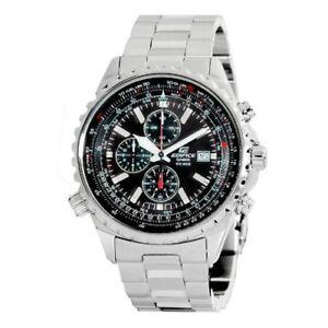 Casio-Men-039-s-Edifice-Stainless-Steel-Multi-Function-Chronograph-Watch-EF527D-1AV