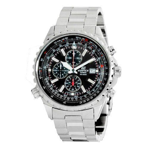 Casio Men's Edifice Stainless Steel Multi Function Chronograph Watch EF527D 1AV