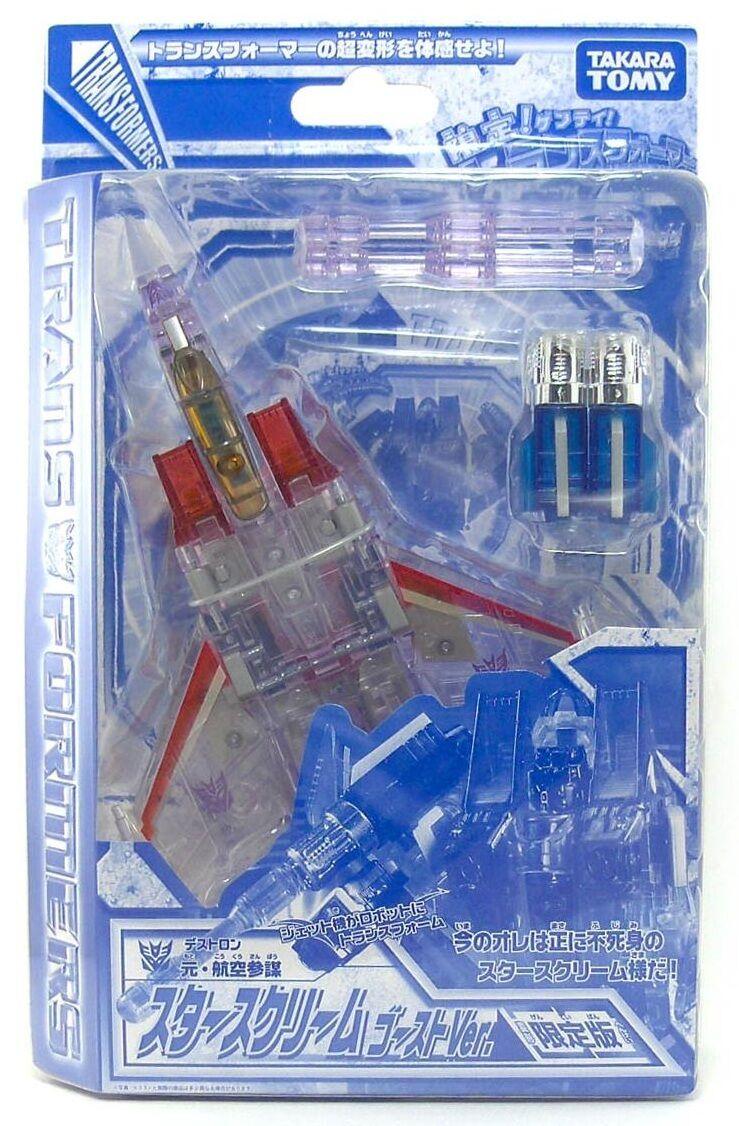 Transformers Henkei Classic Ghost Starscream Exclusive
