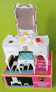 Sindy-Dressing-Table-Stool-Accessories-Pedigree-Dolls-Toys-World-of-Fun