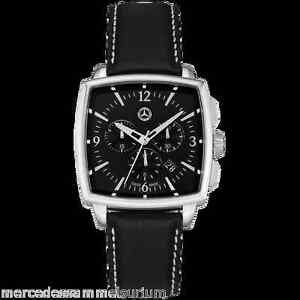Mercedes benz genuine men 39 s wristwatch classic carr for Mercedes benz watches ebay