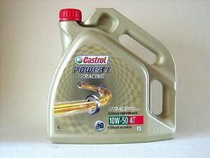 CASTROL-1-Carreras-10w50-4t-Motocicleta-Aceite-De-Motor-Completamente-Sintetico