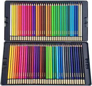 Premium Colored Pencils, 72 Piece Set | Huge Range of Color Pencils