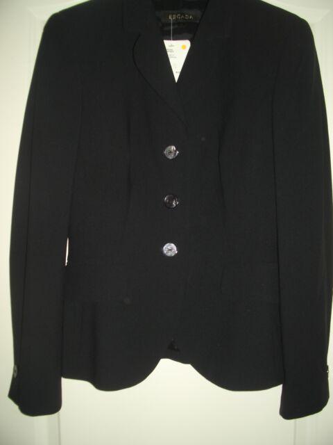 LUXUS  ESCADA Couture Blazer Jacke ESCADA 36/38 schwarz jacket 1180,- GOLF NEU