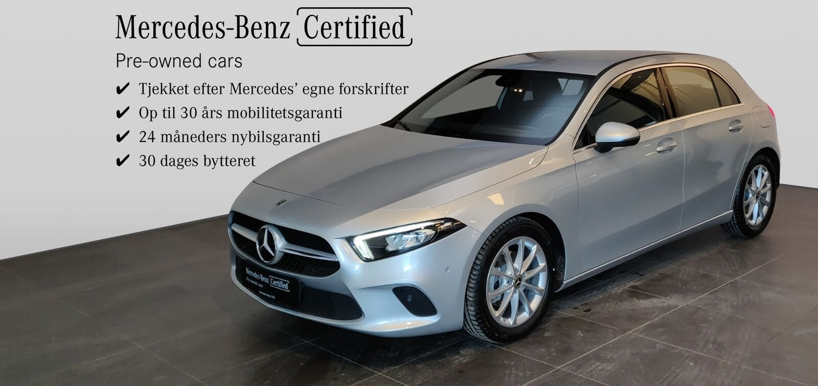 Mercedes A180 d 1,5 Advantage aut. 5d - 314.800 kr.