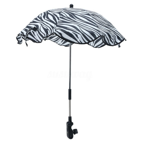 Kid Baby Umbrella Parasol Buggy Pushchair Pram Stroller Sun Canopy Cover UKEY