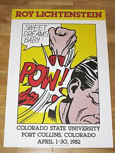 Roy Lichtenstein Poster \