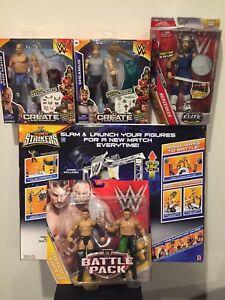 b279600d1fbd WWE Super Strikers Slam 'N Launch Arena Wrestling Ring Playset Plus ...