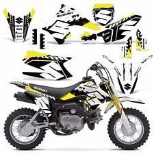 Decal Graphic Kit Suzuki DRZ 70 Dirt Bike Sticker w/ Backgrounds DRZ70 15-16 WRK
